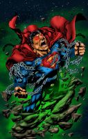 Superman Colors by likwidlead