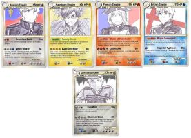 Hetalia Empire Pokemon Cards by camisicado