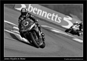 James Hayden in Mono by Andrew-and-Seven