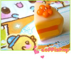 Peach cake by coffishop