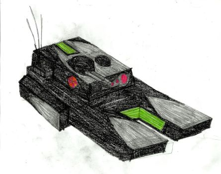 HRV-11 Sparrow scout tank by X-heketchis