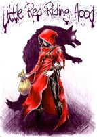 Lil Red:Wolf Hunter by PooLinG-WaTeRs