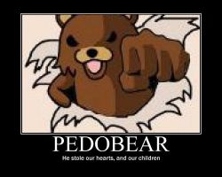 pedo bear by yq6