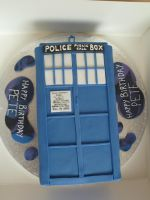 A Third Tardis Cake! by Rebeckington
