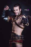 Gannicus - Spartacus - Japan Expo Cosplay Leon C. by LeonChiroCosplayArt