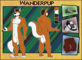 Commission - Wanderpup Reference by ANGO76