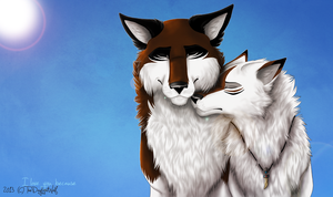 I Love You Because by TheDaylightWolf