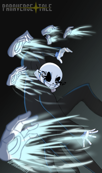 Undertale::ParaverseTale:: Asster Special Attack by SpaceJacket