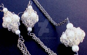 Beaded Bead Set by Craftcove