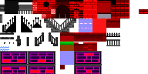 Evil Dungeon Tileset by crookedcartridge