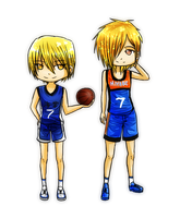 AT: Kise and Fumi by GazeRei