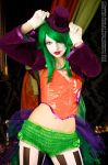 Burlesque Joker Queen 2 by GagaAlienQueen