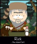 Rick...the oldest fart by Brigitte-Fredensborg