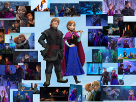 Frozen  Anna and Kristoff by courtneyfanTD