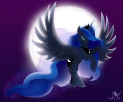 By the Light of the Moon by JoelletheNose