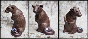 :.Ratty and Swarovski crystal.: by XPantherArtX
