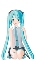 this miku is cute by aexlyii
