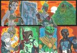 Commissioned Sketch Cards 05 by JoeHoganArt