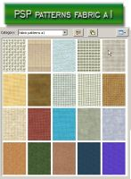 psp patterns fabric a1 by feniksas4