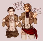 Assassin's Creed Unity | Attack on Titan crossover by Lazorite