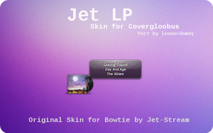 Jet LP for Covergloobus by leonardomdq
