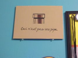 Ceci n'est pas une pipe by msfurious