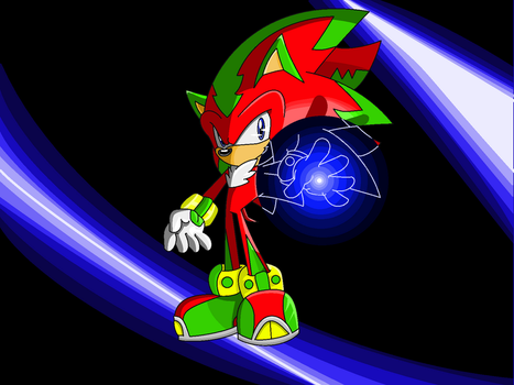 Rozon the Hedgehog- My Energy by CometX-ing