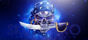 Pirate Skull by s-in