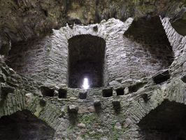 within a castle tower by nonyeB