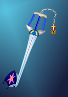 Protective Guardian (Shining armor keyblade) by aniamalman