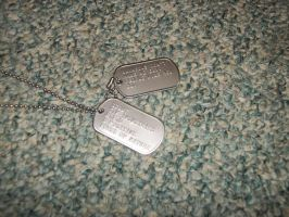 Scout's dog tags by TheCrimsonLoomis