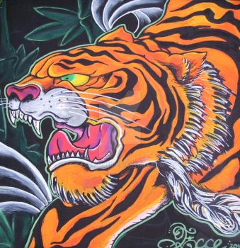Tiger by ecce-one