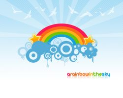 A Rainbow In The Sky by Guratti