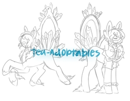 Crysal Pony Adopts WIP by Tea-Adoptables