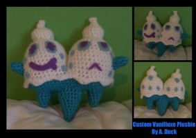 Custom Vanilluxe Plushie by Milayou