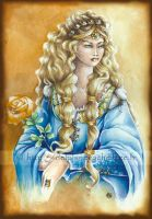 Queen Guinevere by delfee