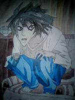 L from death note by daylover1313