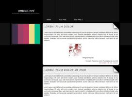 Color - Free Wordpress theme by am2m