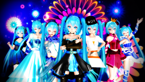 MMD TDA:My best models by AmaneHatsura