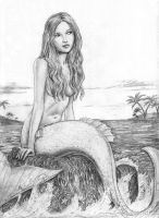 small world mermaid by dashinvaine