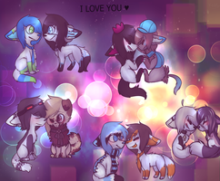 I love you by LUMPl