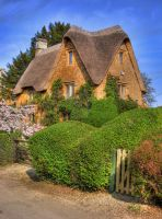 Great Tew Cottage 02 by s-kmp