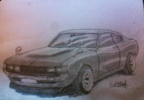 Toyota celica by PoontusB