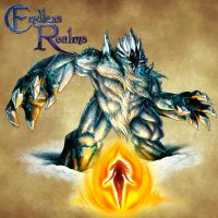 Endless Realms bestiary - Frost Giant by jocarra