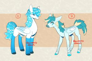 051115 - Pegasus pony-horse design auction[CLOSED] by RenciAdopts