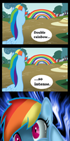 Intense Rainbows by Doodlinjaz