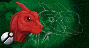 Charmeleon Concept by Sketchasaurus