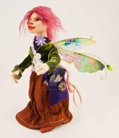 Belladonna Lacewing Pixie Goblin by The-GoblinQueen