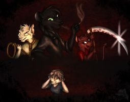 Monsters in my Mind by mimmime
