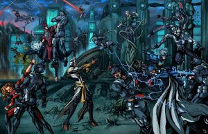 Deorum - War On Providence Color by phil-cho